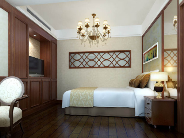 京贸国际城157平米--小卧室