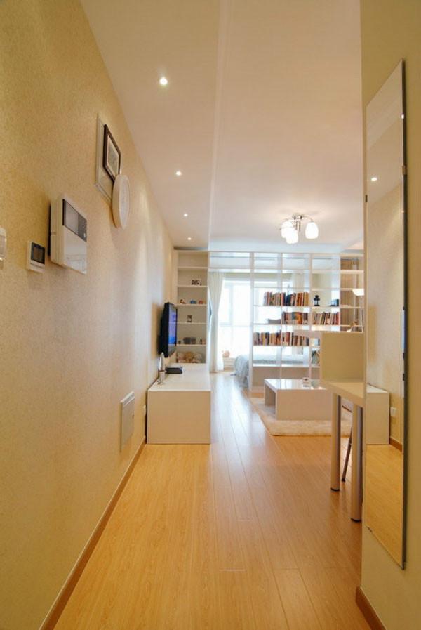 媒体村小区-现代简约-一居室-装修案例设计说明——卧室