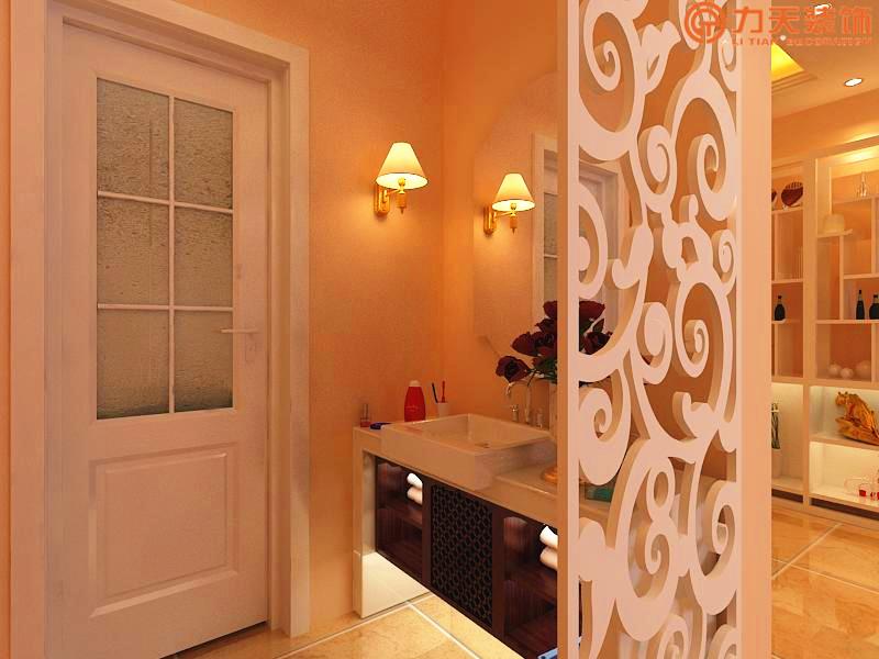欧式 三居 卫生间图片来自阳光力天装饰在中央学府-94㎡-简欧风格的分享