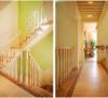 123平绿色小清新三居室