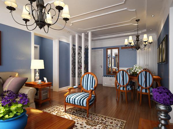 客厅以雍容华贵的金色质感+幽雅艺术雕刻,佐以浪漫的红橡木色为主基调,从简单到繁杂,从整体到局部,精雕细琢,镶花刻金