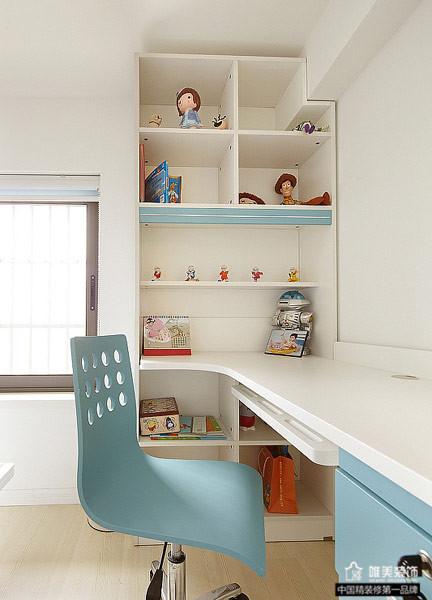 简约 儿童房图片来自唯美装饰在大华铂金府127平简约复式的分享