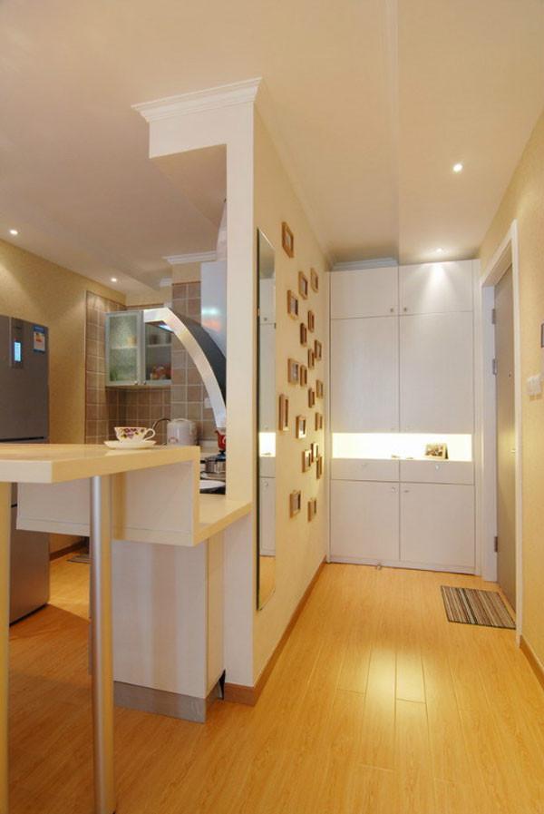 媒体村小区-现代简约-一居室-装修案例设计说明——照片墙