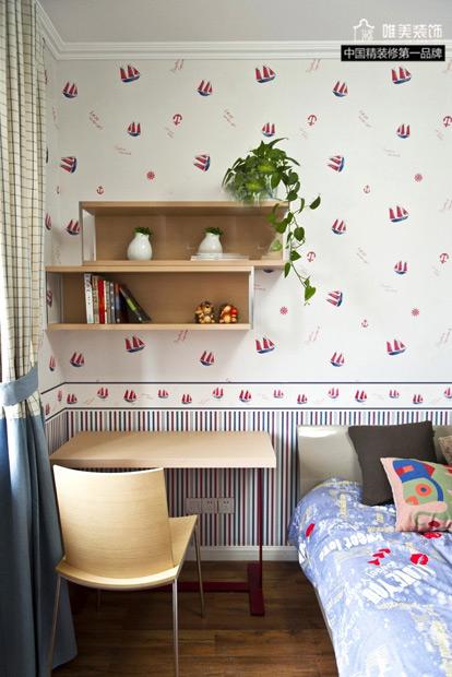简约 三居 儿童房图片来自唯美装饰在玫瑰湾素净淡雅3居的分享