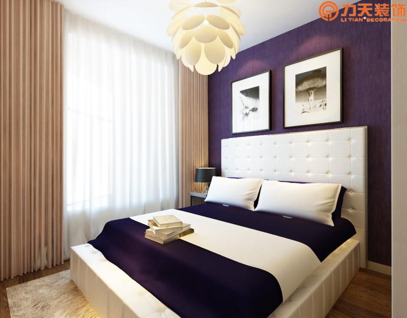 简约 二居 卧室图片来自阳光力天装饰在华润橡树湾-95㎡-简约风格的分享