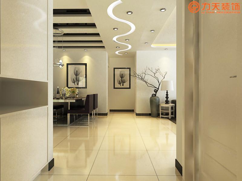 简约 三居 餐厅图片来自阳光力天装饰在卫津领寓-147.27㎡-现代简约的分享