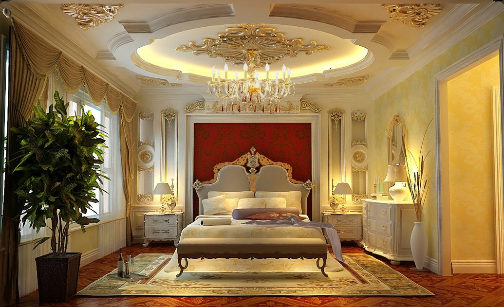 欧式 小资 80后 卧室图片来自轻舟漠然在润泽公馆四居欧式案例的分享