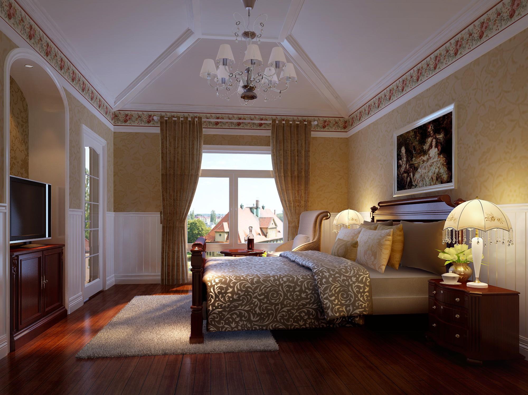 美式 卧室图片来自框框在200平米美式田园的分享