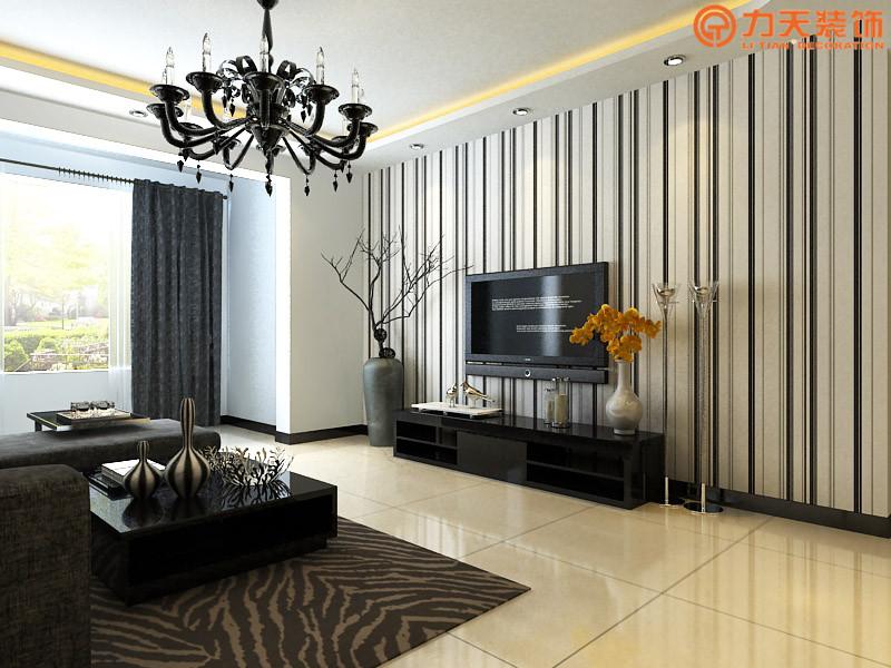 简约 三居 客厅图片来自阳光力天装饰在卫津领寓-147.27㎡-现代简约的分享