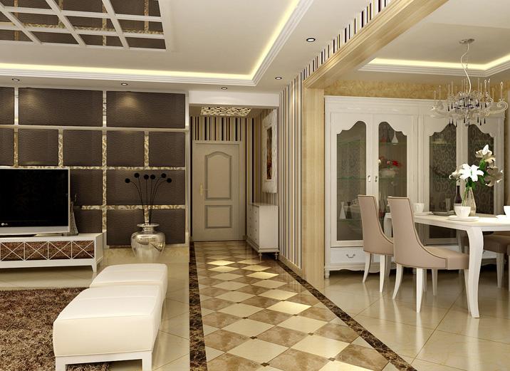欧式 三居 白领 旧房改造 现代简约 实创装饰 装修效果图 其他图片来自实创装饰集团-家装部在留洋女孩的现代奢华生活的分享