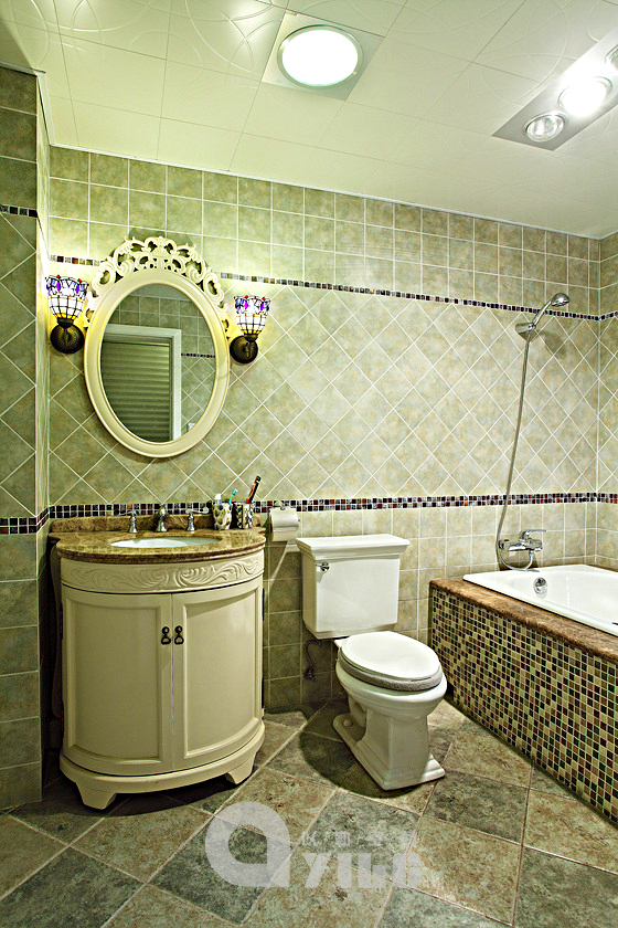 卫生间图片来自以勒设计在海上映花的分享