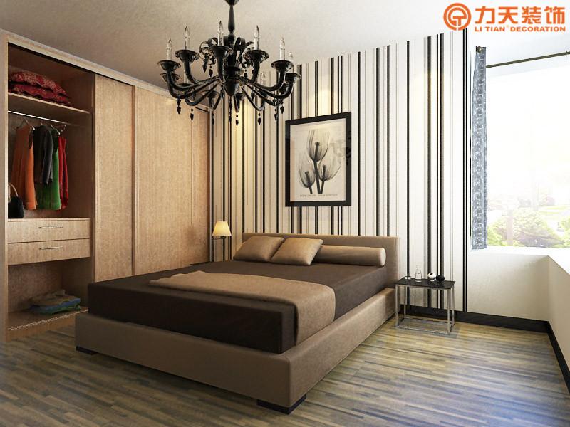 简约 三居 卧室图片来自阳光力天装饰在卫津领寓-147.27㎡-现代简约的分享