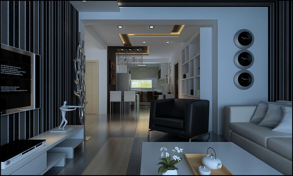 二居 现代 时尚 小资 客厅 餐厅 客厅图片来自百家装饰-小敬在凯旋门的分享
