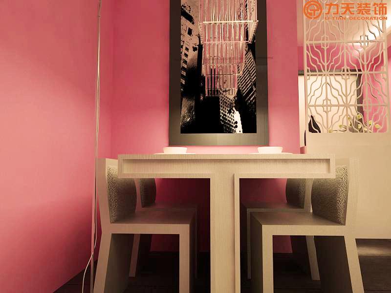 简约 一居 餐厅图片来自阳光力天装饰在中信公园城-54㎡-现代简约的分享