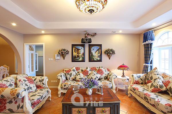 客厅图片来自以勒设计在海上映花的分享