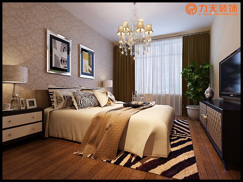 现代 二居 卧室图片来自阳光力天装饰在碧春园-92㎡-现代风格的分享