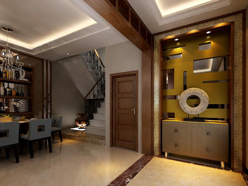 中式风格 别墅装修 四居室装修 收纳 其他图片来自上海实创-装修设计效果图在御沁园别墅中式风格的分享