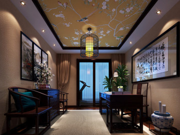 189平四居室,古色古香中国风