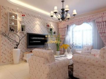 地中海风格二居室装修设计