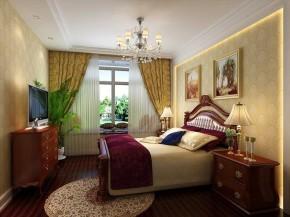 欧式古典 田园 高富帅 卧室图片来自北京合建装饰在欧式古典的田园美家的分享