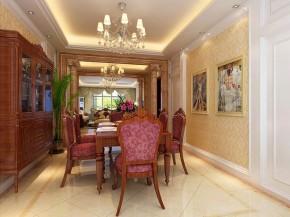 欧式古典 田园 高富帅 餐厅图片来自北京合建装饰在欧式古典的田园美家的分享