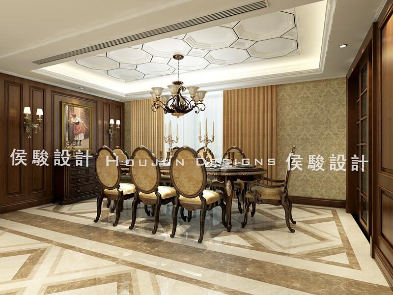 简约 别墅 白领 收纳 小资 80后 餐厅图片来自武汉实创装饰公司晓燕在209平华润悦府美式风格的分享