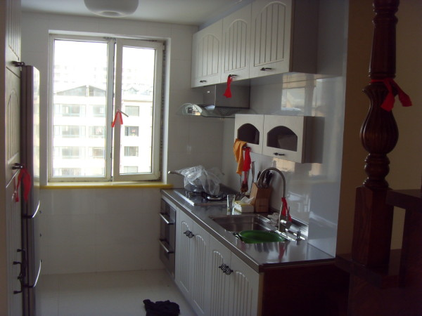 厨房设计摆设和谐
