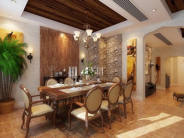 拆除厨房与餐厅之间的轻质墙体,使整个空间变得明亮宽敞,同时有一个便餐台在厨房的一隅,还具备功能强大又简单耐用的厨具设备。