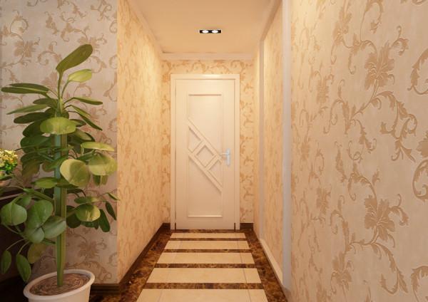 设计理念:因为空间有限,与客厅刷同样颜色的油漆,并未区分。 亮点:因为空间有限,与客厅刷同样颜色的油漆,并未区分。采用石膏板垫底,外加小装饰,简单大气,又不失太过单调。