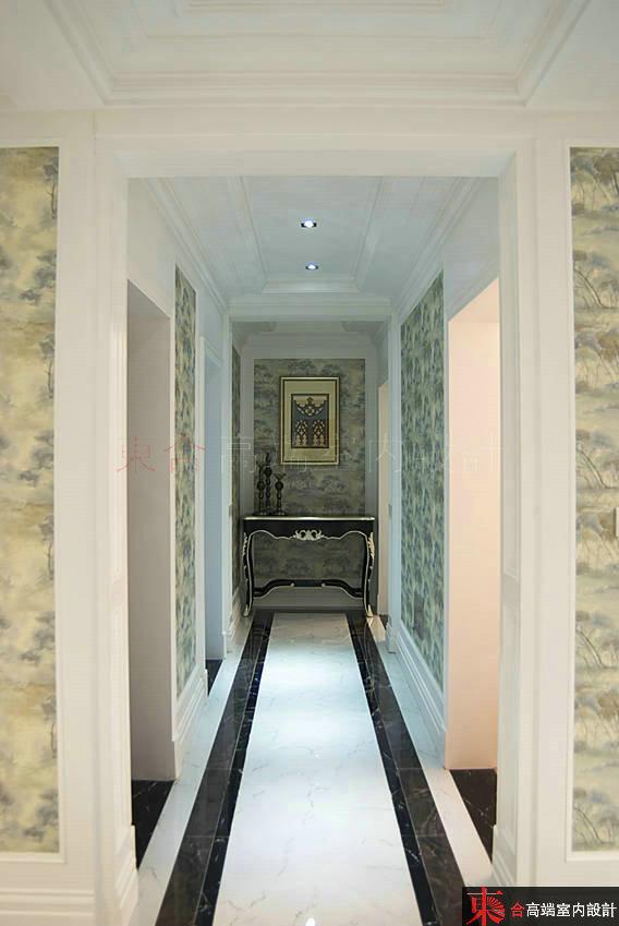 三居 小资 别墅设计 玄关图片来自東合設計在优雅白调的分享