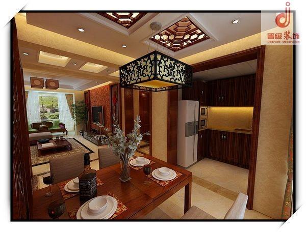 餐厅设计效果-古典中式