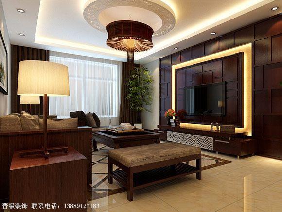 中式风格-客厅设计