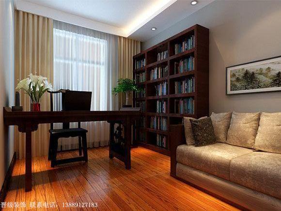 中式风格-书房设计