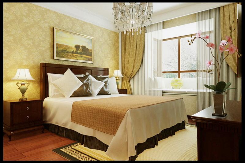 简约 三居 白领 收纳 小资 元洲装饰 卧室图片来自北京元洲最好装修设计在曦望山112平米现代时尚家生活的分享