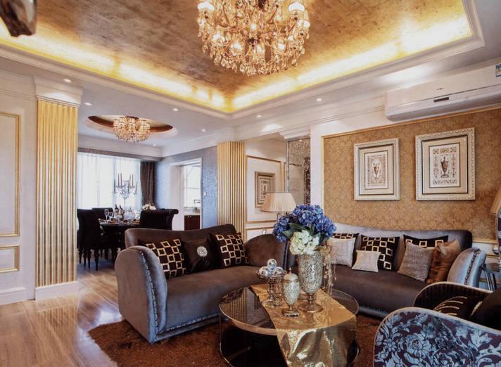 四居 美式 大华诺斐湾 160平四房 美式装修 客厅图片来自孙进进在大华诺斐湾160平四房美式装修的分享