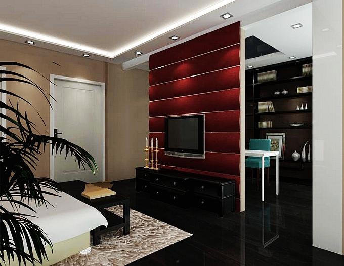 简约 现代 卧室图片来自业之峰装饰旗舰店在小清晰的现代简约的分享