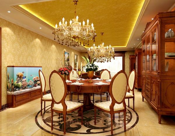 餐厅图片来自框框在方庄老房改造120平米三居室的分享