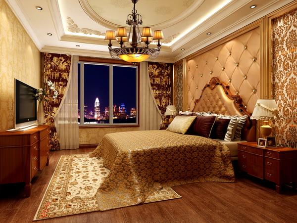 卧室图片来自框框在方庄老房改造120平米三居室的分享