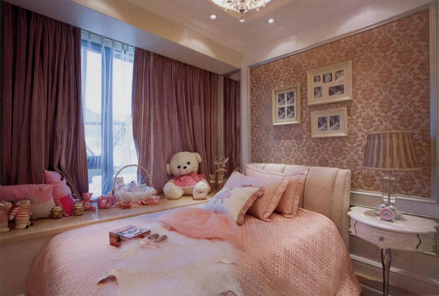 四居 美式 大华诺斐湾 160平四房 美式装修 儿童房图片来自孙进进在大华诺斐湾160平四房美式装修的分享