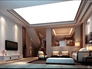 560平新中式别墅—安静的梦