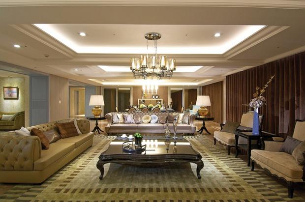 简约 欧式 客厅图片来自业之峰装饰旗舰店在简欧风格高端奢华的居住空间的分享