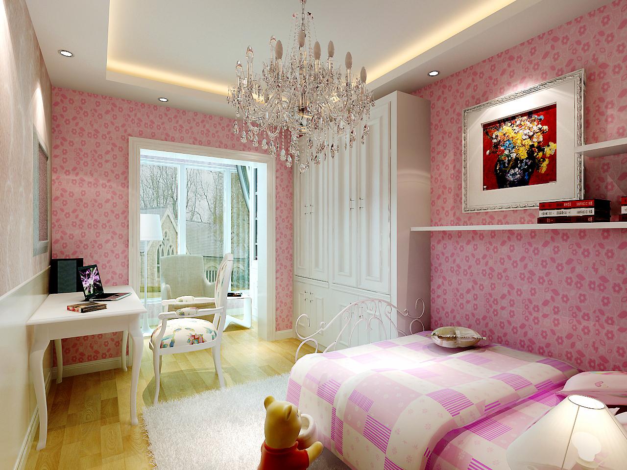 天津 今朝 简约 卧室图片来自今朝小涵_在原色搭配,7w打造画感两居室的分享