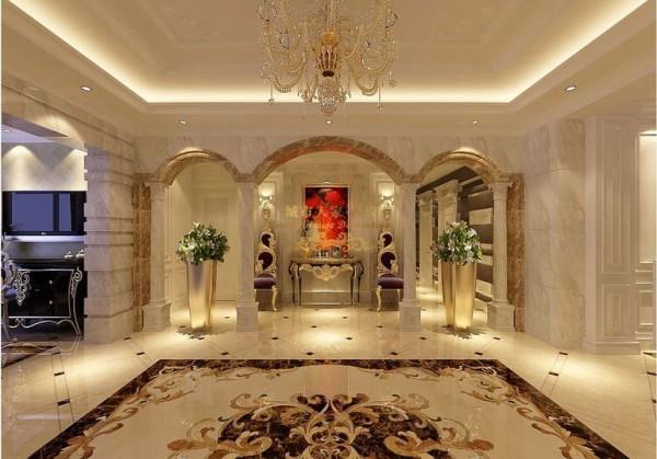 西安城市人家-曲江6号-白欧风格-165平米四居室装修设计