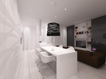 90平米北欧风格公寓