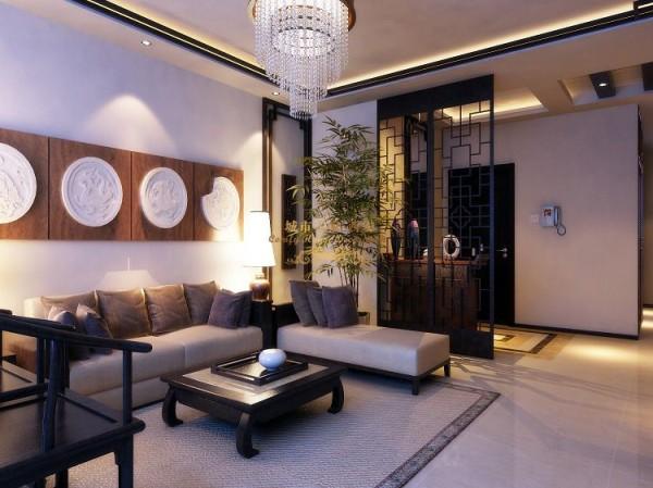 西安城市人家-紫薇曲江意境-中式风格-146平米三居室装修设计