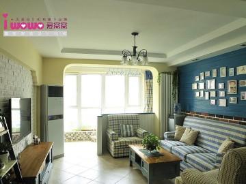 90平米红螺家园地中海设计