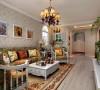西安城市人家-广厦水岸东方-田园风格-98.59平米二居室装修设计