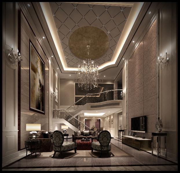 简欧 时尚简约 名雕装饰 80后 复式 客厅图片来自名雕装饰设计在桃源居首府品味简约时尚生活格调的分享