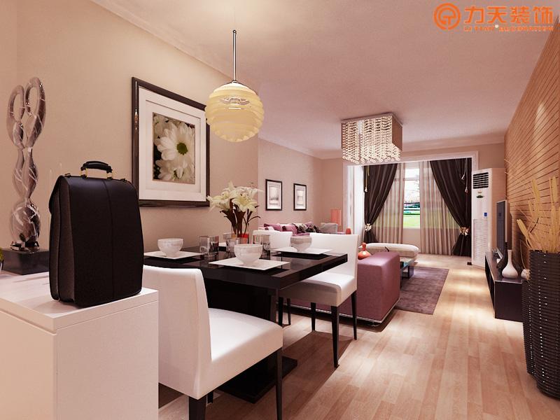 现代 二居 餐厅图片来自阳光力天装饰在金隅悦城-95㎡-现代风格的分享