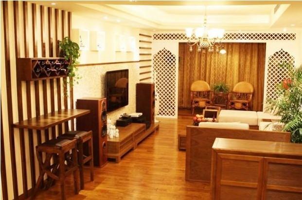 简约 东南亚 二居 白领 收纳 旧房改造 80后 小资 客厅图片来自北京实创装饰集团在海归美女86平情迷东南亚恋家的分享